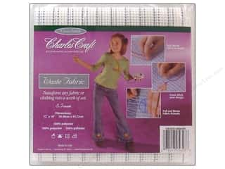 "Aida Cloth: Charles Craft Waste Canvas 8.5 count 12x18"" Pkg"