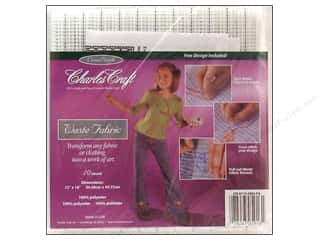 Cross Stitch Cloth / Aida Cloth: Charles Craft 10-count Waste Canvas 12 x 18 in.