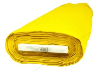 "Kunin Rainbow Felt 36""x 20 yd Bolt Yellow (20 yards)"