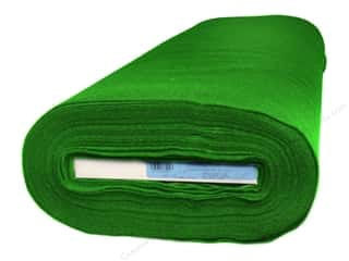 "Kunin Rainbow Felt 36""x 20 yd Bolt Apple Green (20 yards)"