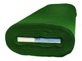 "Kunin Rainbow Felt 72""x 10 yd Bolt Hunter Green (10 yards)"
