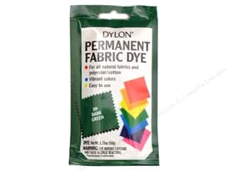 Dylon Permanent Fabric Dye 1.75oz Dark Green