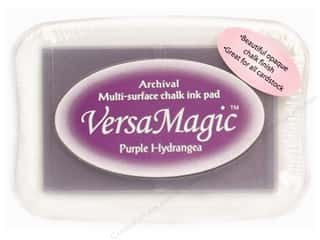 Magic Stamp: Tsukineko VersaMagic Large Chalk Pigment Ink Stamp Pad Purple Hydrangea