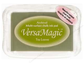 Inks $1 - $3: Tsukineko VersaMagic Large Chalk Pigment Ink Stamp Pad Tea Leaves