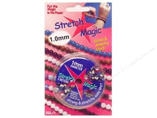 Stretch Magic Cord 1mm Clear 5m Carded