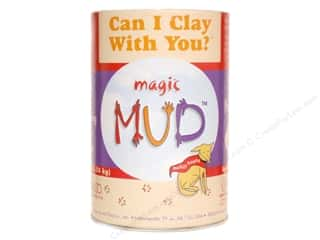 Clay & Modeling 1.75 lb: AMACO Magic Mud 3 lb.