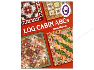 Michell Marketing Quilt Books: Marti Michell Log Cabin ABCs Book