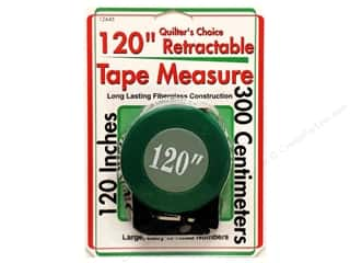 "Measuring Tapes/Gauges Collins Tape Measure: Sullivans Quilt Shop Tape Measure 120"" Retractable"