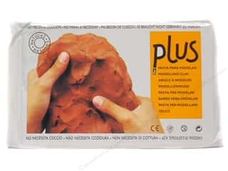Clay & Modeling 1.75 lb: Activa Plus Clay 2.2 lb. Terra Cotta