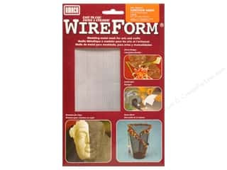 Metal: AMACO WireForm Metal Mesh 1/16 in. Contour Aluminum 16 x 20 in.