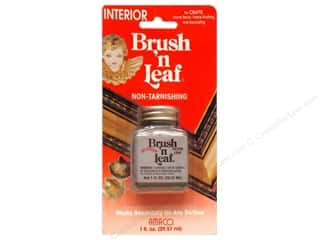 AMACO Brush 'n Leaf Interior 1oz Mtlc Slvr Leaf