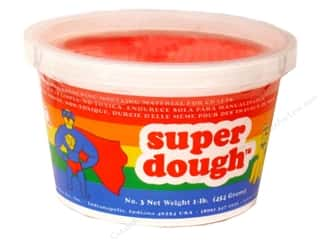 Clay & Modeling Children: AMACO Super Dough 1 lb. Red