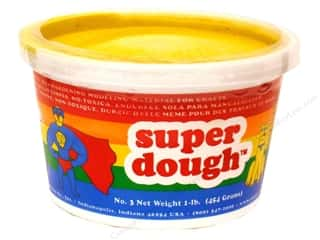 Kids Crafts Spring Cleaning Sale: AMACO Super Dough 1 lb. Yellow