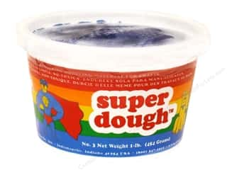 Kids Crafts Spring Cleaning Sale: AMACO Super Dough 1 lb. Blue