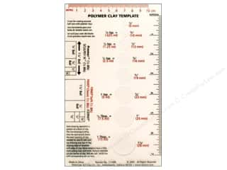 Clearance Blumenthal Favorite Findings: AMACO Clay Measuring Template