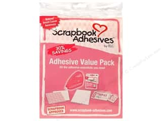 New Years Resolution Sale Snapware: 3L Scrapbook Adhesives Value Pack Pink