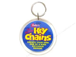 Unique Basic Components: Kelly's Kraze Key Chain 2.25""