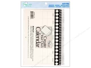 Calendars 2 1/2 in: Paper Accents 14 Month Calendar 5 1/2 x 8 1/2 in. White
