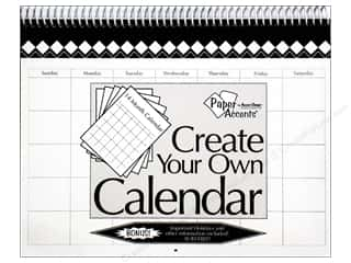 Calendars: Paper Accents 14 Month Calendar 8 1/2 x 11 in. White