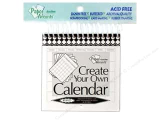 Calendars: Paper Accents 14 Month Calendar 4 x 4 in. White