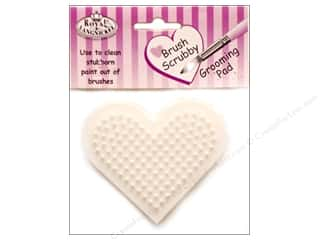 Royal Brush Scrubber Heart Shaped (3 pieces)
