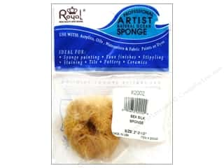 Home Decor Blue: Royal Sponges Sea Silk 2 to 2.5""