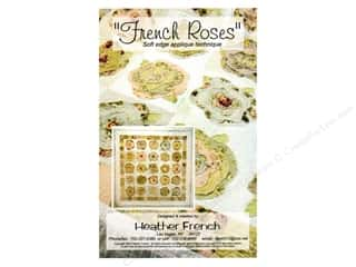 New Books & Patterns: Heather French French Roses Pattern