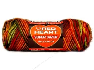 Red Heart Super Saver Yarn #0981 Fall 5 oz.