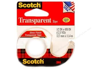 "Clear Scraps Back To School: Scotch Tape Transparent 1/2""x 450"""