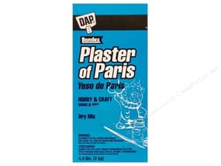 Resin, Ceramics, Plaster Black: DAP Plaster of Paris Dry Mix 4.4 lb Box