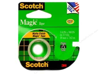 "Glues, Adhesives & Tapes Scotch Tape: Scotch Tape Magic 3/4""x 300"""