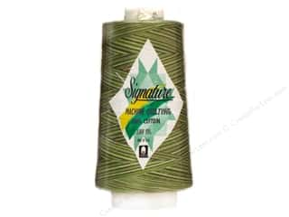 Signature 100% Cotton Thread 3000 yd. Variegated Grassy Greens
