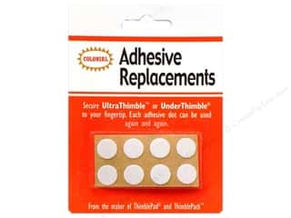 Colonial Needle $8 - $12: Colonial Needle UnderThimble Adhesive Replacements