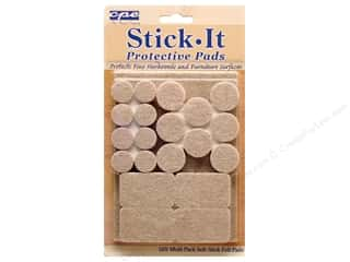 CPE Stick It Pads Felt Heavy Duty Multi 42 pc