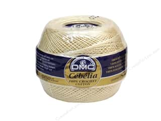 cotton yarn: DMC Cebelia Crochet Cotton Size 36 #712 Cream