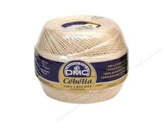 cotton yarn: DMC Cebelia Crochet Cotton Size 30 Ecru