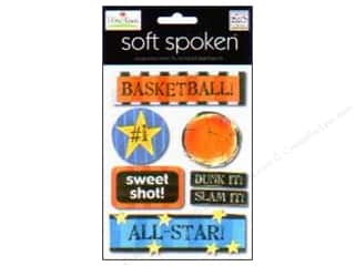 2013 Crafties - Best Adhesive: MAMBI Sticker Soft Spoken Ellen Basketball