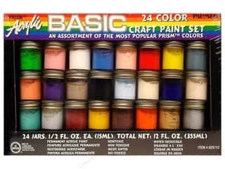 Acrylic Paint Set 1/2oz 24pc Basic