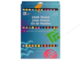 Cards Drawing: Loew Cornell Chalk Pastels 36 pc