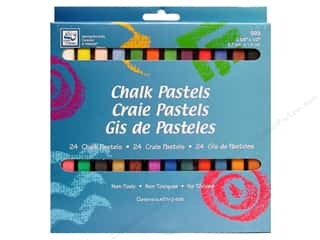Loew Cornell Chalk Pastels 24 pc