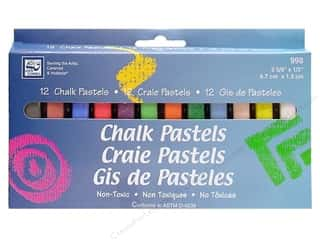 Loew Cornell Chalk Pastels 12 pc