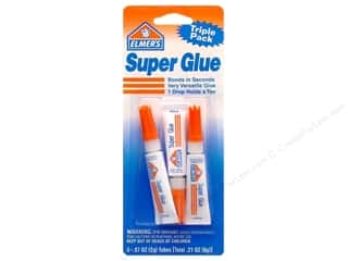 Elmer's Glues/Adhesives: Elmer's Super Glue Triple Pack