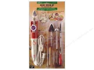 Wreaths Sewing Gifts & Gift Notions: Clover Mini Iron II & Assorted Tips