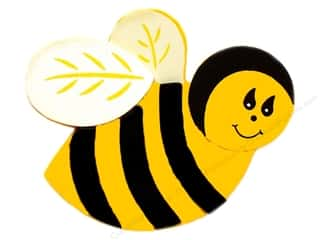 Lara&#39;s Painted Wood Bulk Bumble Bee (50 pieces)