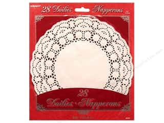 "Unique Papers: Unique Doilies Round 8.5"" 28 pc"