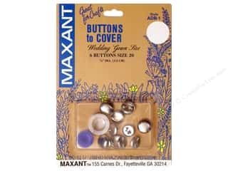 Maxant Button & Supply Buckles: Maxant Cover Button Kit Size 20