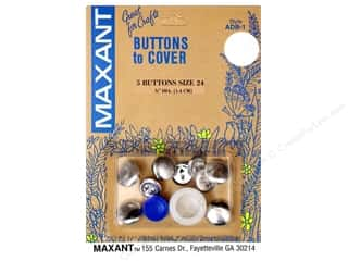 half ball cover buttons: Maxant Cover Button Kit Size 24