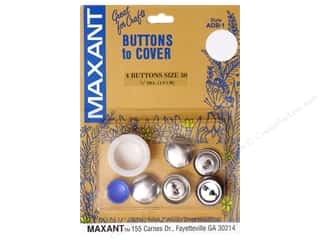 Maxant Button & Supply Buckles: Maxant Cover Button Kit Size 30