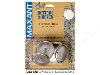 half ball cover buttons: Maxant Cover Button Kit Size 60