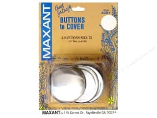half ball cover buttons: Maxant Cover Button Kit Size 75